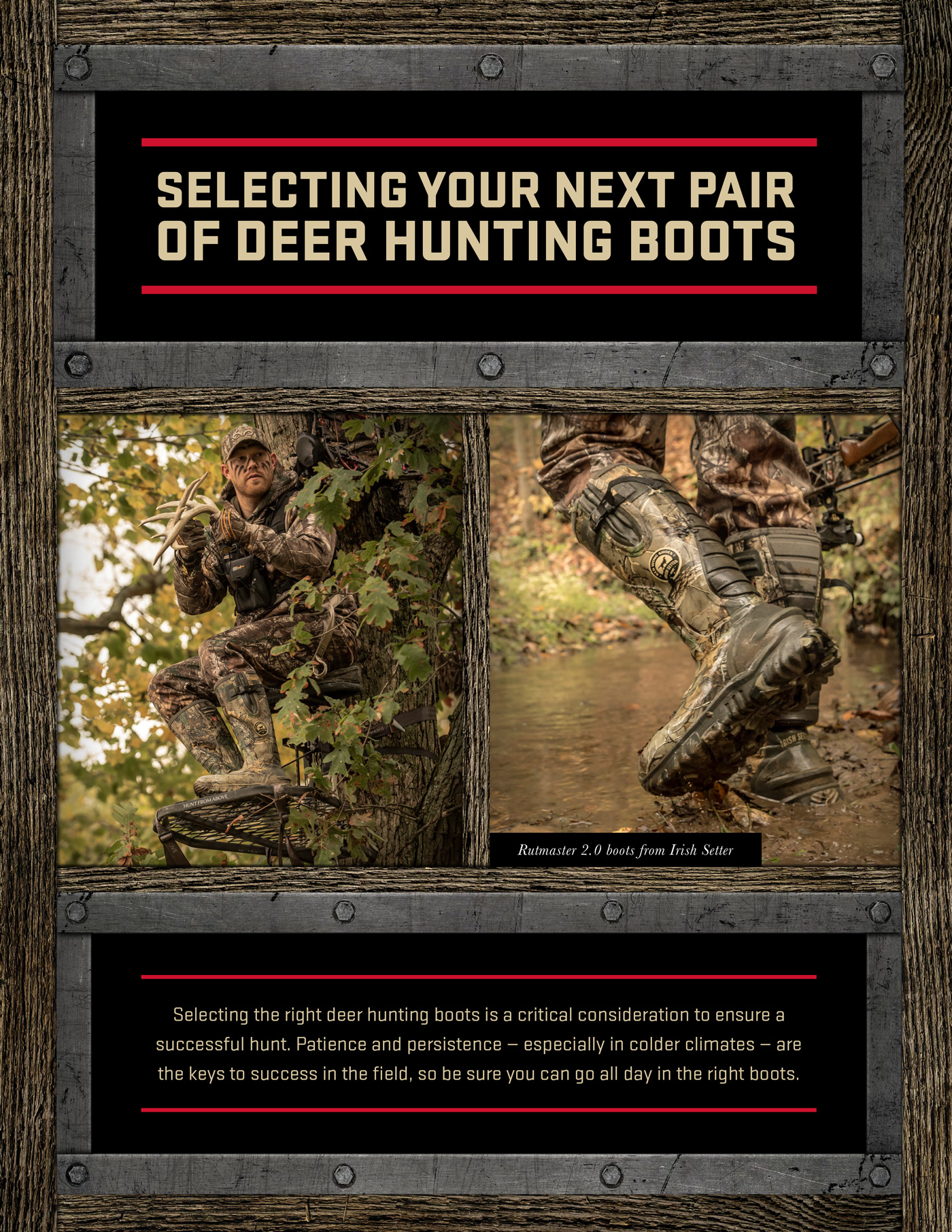 Selecting Deer Hunting Boots